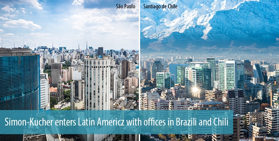 Simon-Kucher enters Latin America with offices in Brazili and Chili