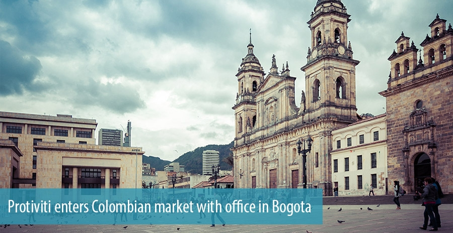 Protiviti enters Colombian market with office in Bogota