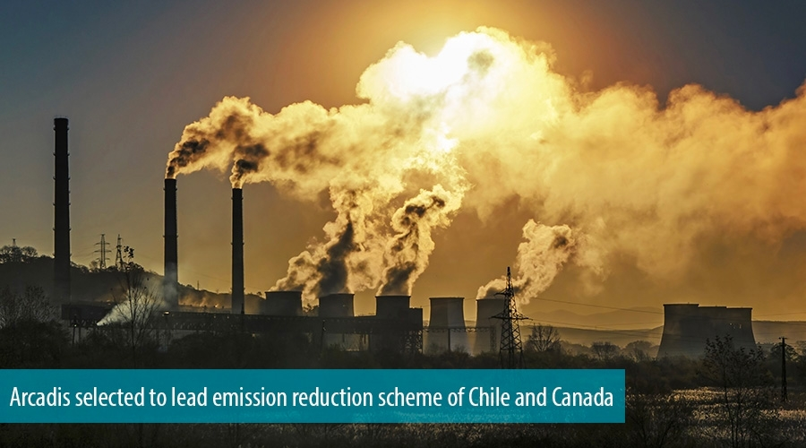 Arcadis tapped to lead Canadian-Chilean emission reduction scheme