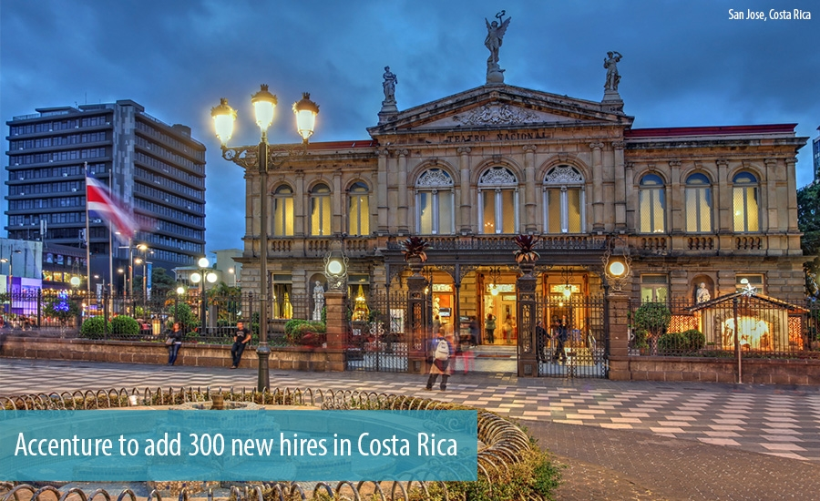 Accenture to add 300 new hires in Costa Rica