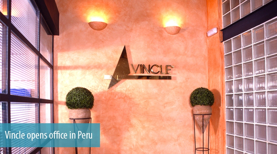 Vincle opens office in Peru