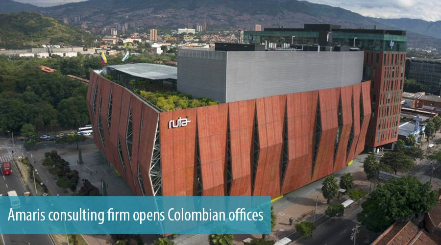 Amaris consulting firm opens Colombian offices