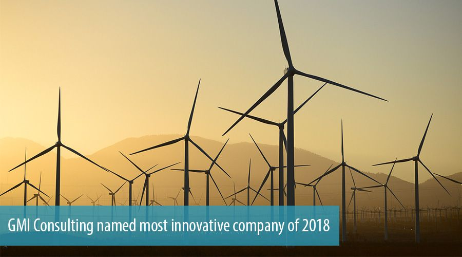 GMI Consulting named most innovative company of 2018