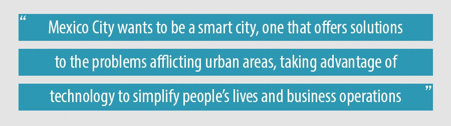 Mexico City wants to be a smart city