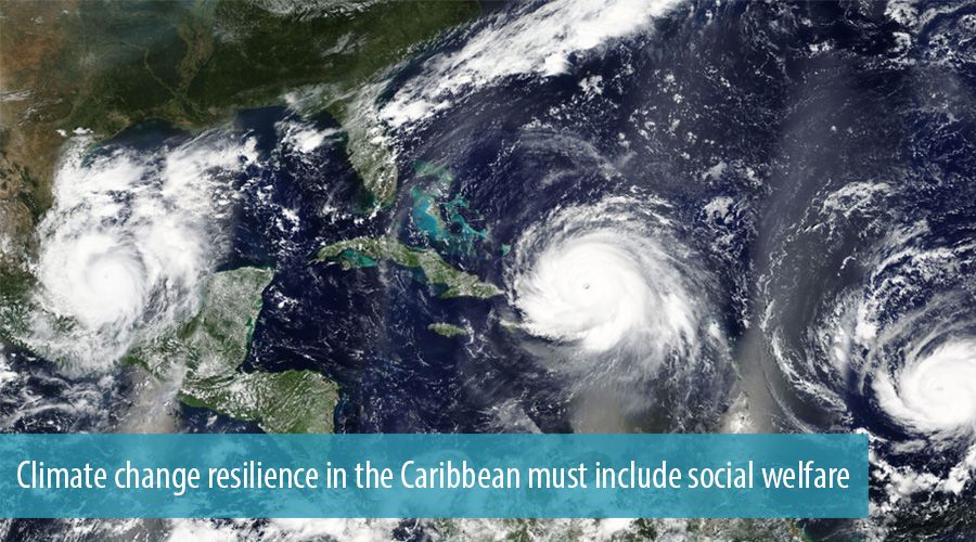 Climate change resilience in the Caribbean must include social welfare