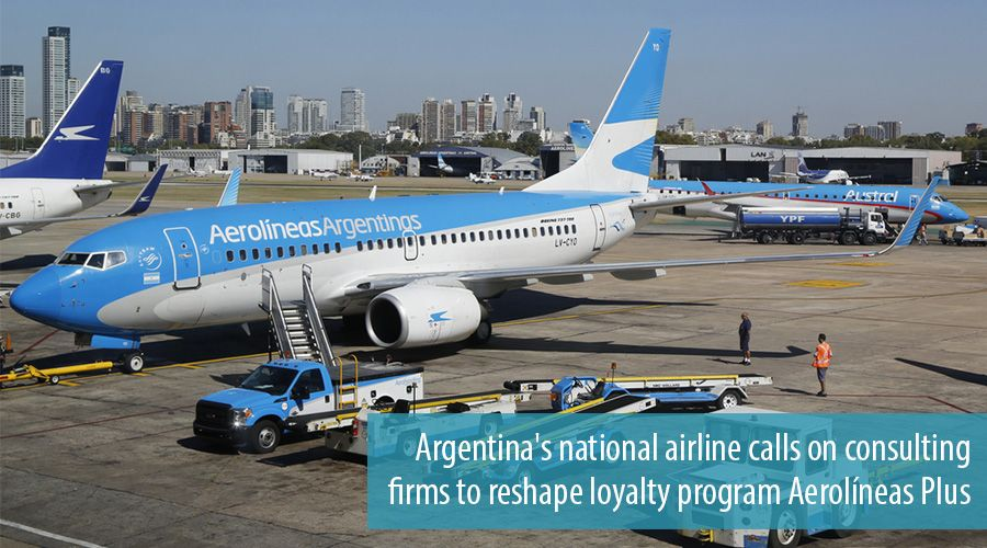 Argentina's national airline calls on consulting firms to reshape loyalty program Aerolíneas Plus