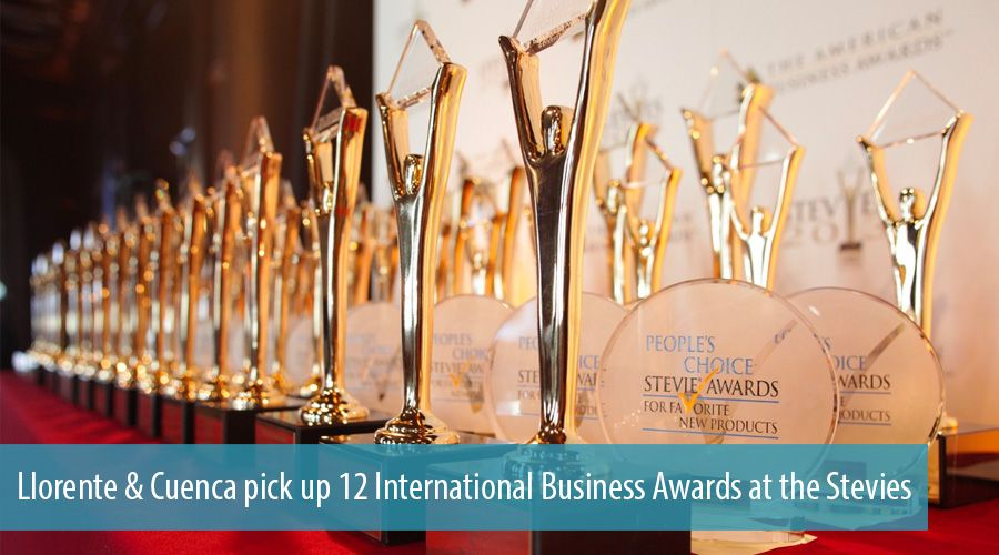 Llorente & Cuenca pick up 12 International Business Awards at the Stevies