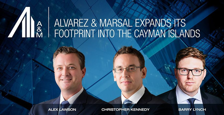 Alvarez & Marsal opens office in the Cayman Islands