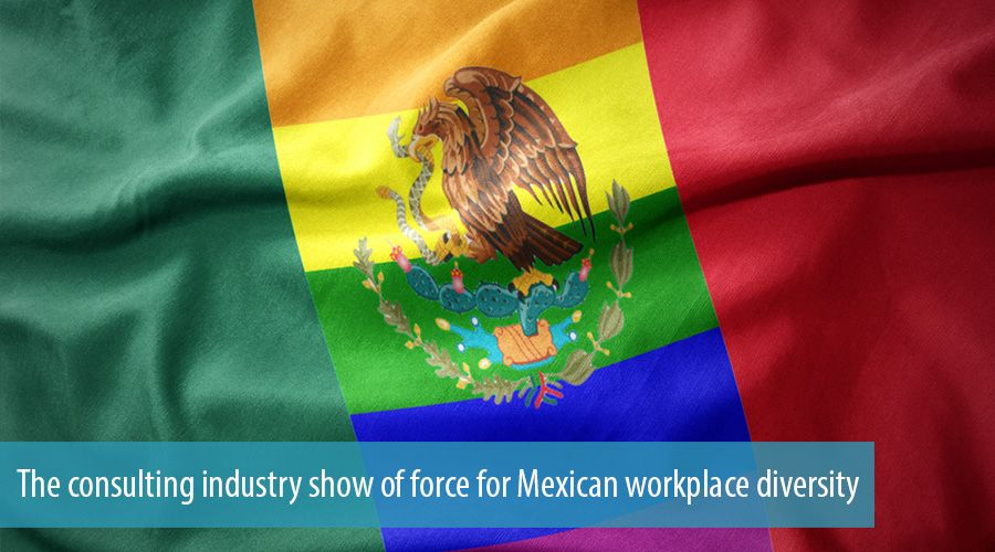 The consulting industry show of force for Mexican workplace diversity