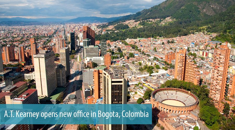 A.T. Kearney opens new office in Bogota, Colombia