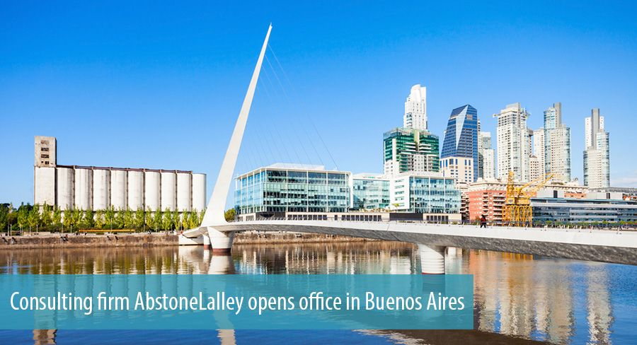 Consulting firm AbstoneLalley opens office in Buenos Aires