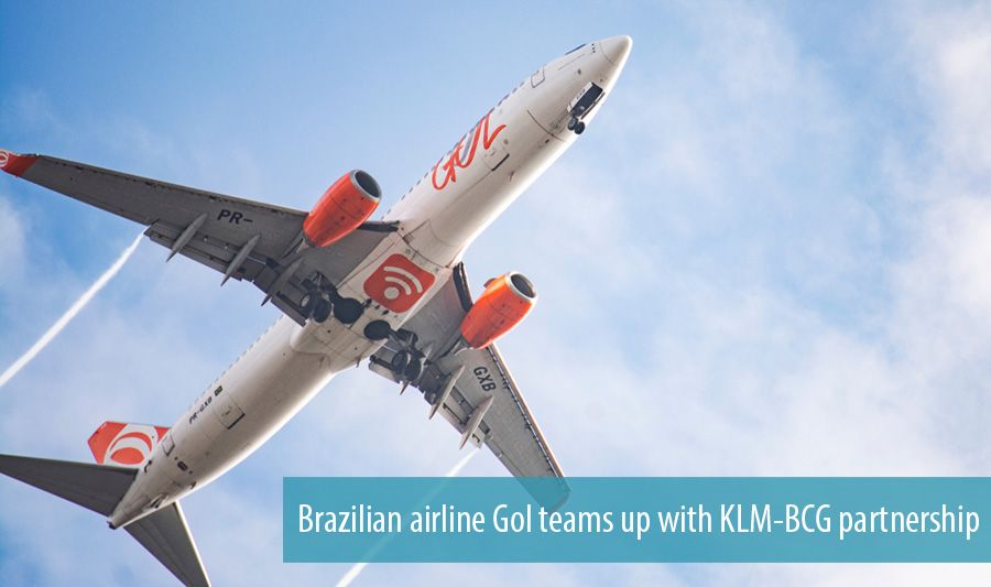 Brazilian airline Gol teams up with KLM-BCG partnership