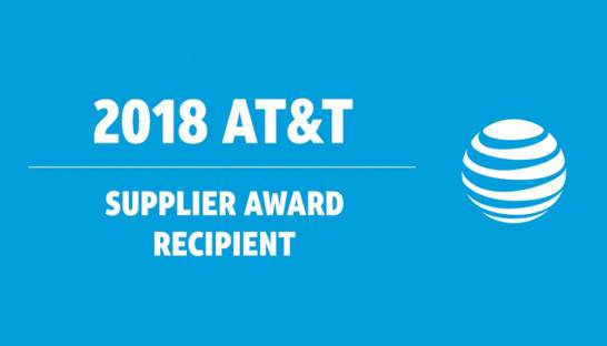 Alorica takes home number one spot at 2018 AT&T Supplier Award