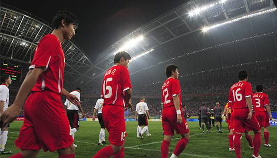 China deepens ties with Latin America though football