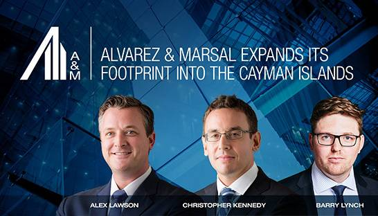 Alvarez & Marsal opens an office in the Cayman Islands, 55th globally