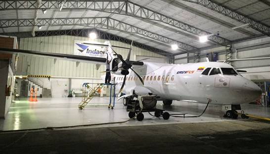 Technical aviation consultancy Indaer sells MRO wing to airline