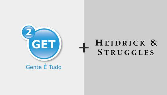 2GET joins global human capital firm Heidrick & Struggles
